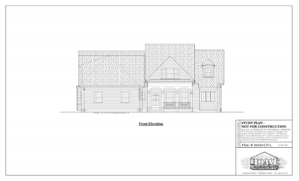 ss-8600cpl-1 5 bedroom 4 bathroom cape house plan