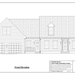 ss-8604cp-1 3 bedroom 2 bathroom cape house plan