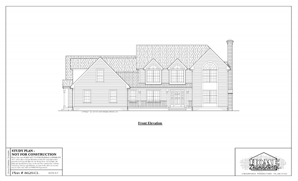 ss-8629cl-1 4 bedroom 3 bathroom colonial house plan