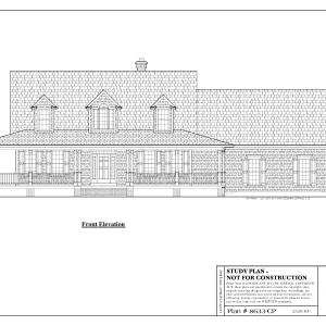 ss-8633cp-1 3 bedroom 2 bathroom cape house plan