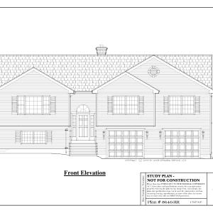 ss-8646rr-1 3 bedroom 2 bathroom raised ranch house plan