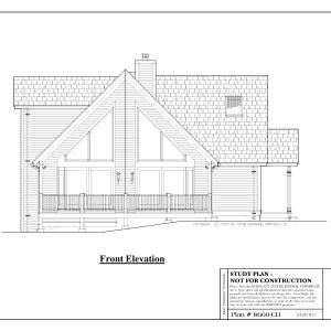 ss-8660ch-1 3 bedroom 3 bathroom chalet house plan