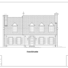 ss-8673cp-1 4 bedroom 4 bathroom cape house plan