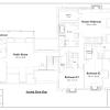 ss-8673cp-3 4 bedroom 4 bathroom cape house plan