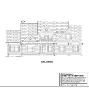 ss-8784cpl-1 3 bedroom 2 bathroom cape house plan