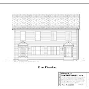 ss-8845d-1 6 bedroom 4 bathroom duplex house plan