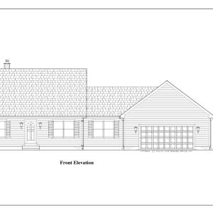 ss-8915cp-1 4 bedroom 3 bathroom cape house plan