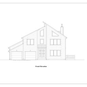 ss-9295ct-1 3 bedroom 2 bathroom contemporary house plan