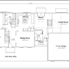 ss-9318cl-2 3 bedroom 2 bathroom colonial house plan
