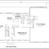 ss-9320cl-2 4 bedroom 2 bathroom colonial house plan