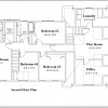 ss-9320cl-3 4 bedroom 2 bathroom colonial house plan