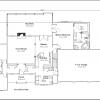 ss-9322rl-2 3 bedroom 2 bathroom ranch house plan