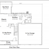 ss-9324cl-2 3 bedroom 2 bathroom colonial house plan