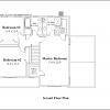 ss-9324cl-3 3 bedroom 2 bathroom colonial house plan