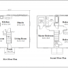 ss-9326cl-2 3 bedroom 1 bathroom colonial house plan