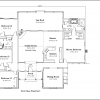 ss-9327rl-2 3 bedroom 2 bathroom ranch house plan