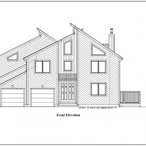ss-9340ct-1 3 bedroom 2 bathroom contemporary house plan