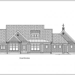 ss-9345cpl-1 4 bedroom 2 bathroom cape house plan