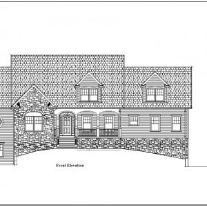 ss-9432cpl-1 3 bedroom 2 bathroom cape house plan