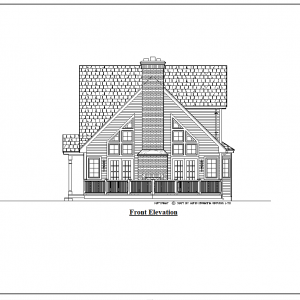 ss-9435ch-1 bedroom 1 bathroom chalet house plan