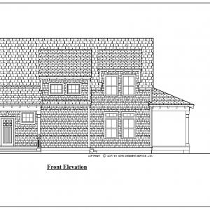 ss-9436u-1 3 bedroom 2 bathroom beach house plan