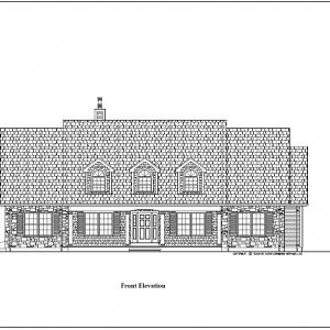 ss-9510ul-1 2 bedroom 2 bathroom unique house plan