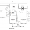 ss-9538cp-6 3 bedroom 2 bathroom cape house plan