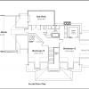 ss-9538cp-7 3 bedroom 2 bathroom cape house plan