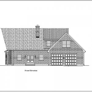 ss-9550chl-1 3 bedroom 2 bathroom chalet house plan