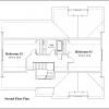 ss-9578cp-3 3 bedroom 2 bathroom cape house plan