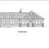 ss-9594r-1 2 bedroom 2 bathroom ranch house plan