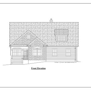 ss-9675cp-1 4 bedroom 3 bathroom cape house plan