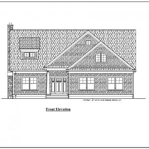 ss-9679-cp-1 4 bedroom 3 bathroom cape house plan