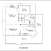 ss-9695u-6 3 bedroom 2 bathroom unique house plan