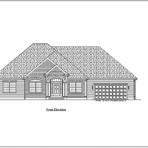 ss-9696r-1 3 bedroom 2 bathroom ranch house plan