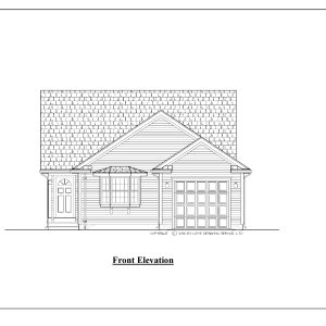 ss-10008r-1 2 bedroom 2 bathroom ranch house plan