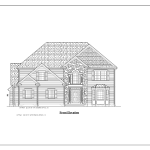 ss-10014cl-1 3 bedroom 2 bathroom colonial house plan