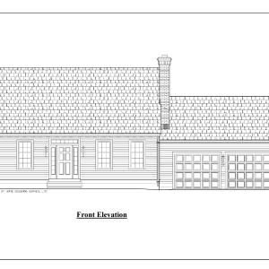 ss-10025cp-1 2 bedroom 2 bathroom cape house plan