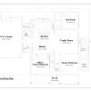 ss-10149cp-2 3 bedroom 2 bathroom cape house plan