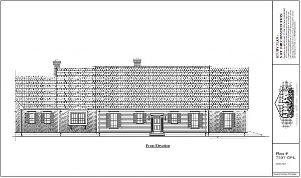 ss-7257cpl-1 3 bedroom 3 bathroom cape house plan