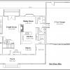 ss-7604cp-2 3 bedroom 2 bathroom cape house plan