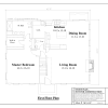 ss-7853cp-2 2 bedroom 2 bathroom cape house plan
