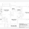 ss-7877cp-2 3 bedroom 2 bathroom cape house plan