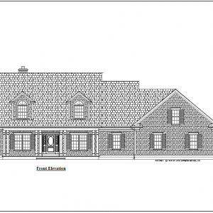 ss-8034cpl-1 4 bedroom 4 bathroom cape house plan