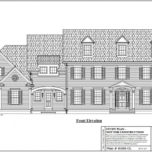 ss-8589cl-1 5 bedroom 5 bathroom colonial house plan