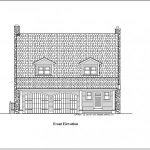 ss-8868cpl-1 3 bedroom 2 bathroom cape house plan