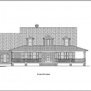 ss-8888cp-1 3 bedroom 2 bathroom cape house plan