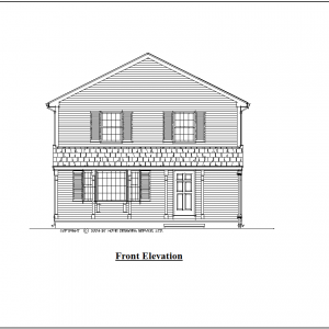 ss-8930cl-1 3 bedroom 1 bathroom colonial house plan