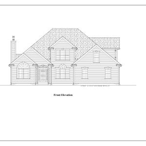 ss-8935ul-1 4 bedroom 2 bathroom colonial house plan