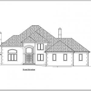 ss-8971ul-1 3 bedroom 2 bathroom unique house plan